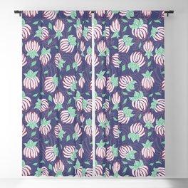 Blush Bloom Peony Lavender Blackout Curtain