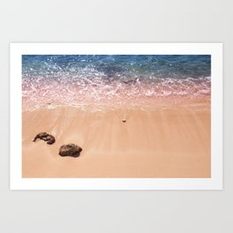 Rocky Cayman Islands Art Print