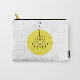 Font Chandelier Carry-All Pouch
