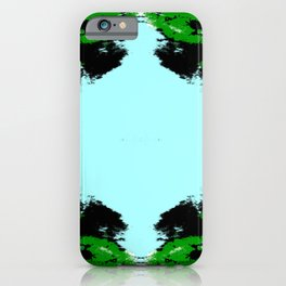 Finata - Abstract Colorful Batik Camouflage Tie-Dye Style Pattern iPhone Case