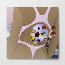 Edible Dreams x2 Metal Print