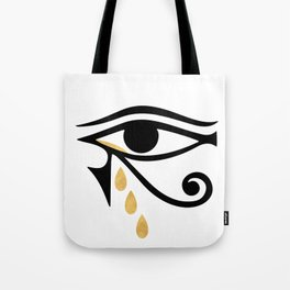 ALL SEEING CRY - Eye of Horus Tote Bag
