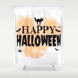 Happy Halloween | Spooky Shower Curtain