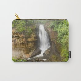 Miners Falls - Pictured Rocks Waterfall, Michigan Carry-All Pouch