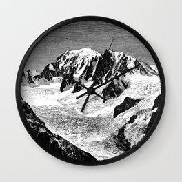 Existing Alpine Glacier Wall Clock