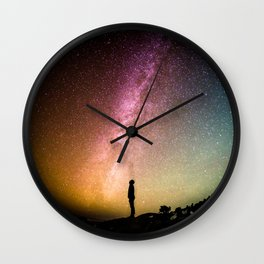 Under the sky Wall Clock