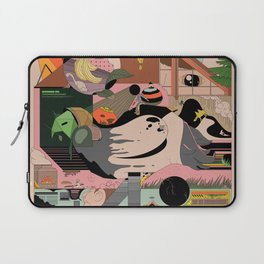 Modern Pizza Bird House Laptop Sleeve