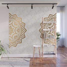 Gold Mandala 13 Wall Mural