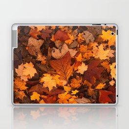 Autumn Fall Leaves Laptop & iPad Skin