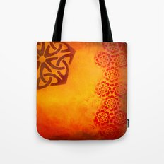 Abstract heat Tote Bag