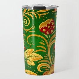 Russian ornament Travel Mug