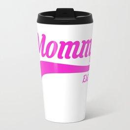 Mommy Est. 2013 New Mom Mother's Day T-Shirt Travel Mug