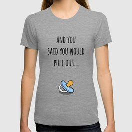 Oops Its a boy, funny pregnancy announcement T-shirt