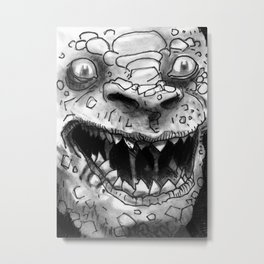 Rogues Gallery - Killer Croc Metal Print