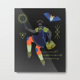 Witch Series: Magic Wand Metal Print