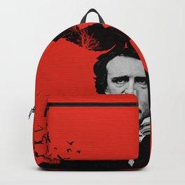Edgar Allan Poe / Raven / Digital Painting Backpack