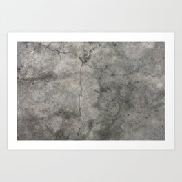 Urban Photography - Hangar Floor Art Print