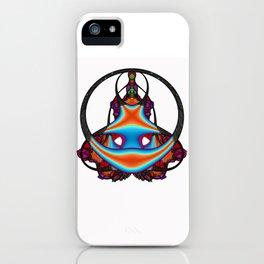 Meditating              iPhone Case