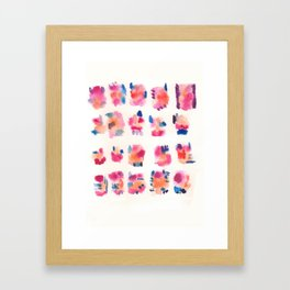 160122 Summer Sydney 2015-16 Watercolor #19 Framed Art Print