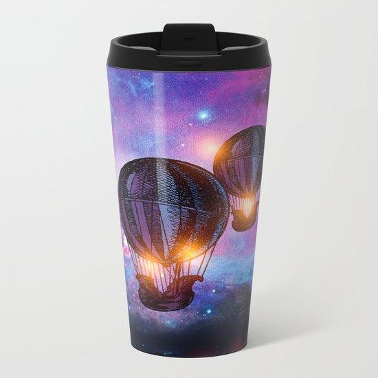 Space trip. Metal Travel Mug