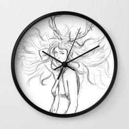 Fashion deer Wall Clock