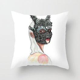 «Sinner» Project Throw Pillow