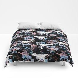 Jurassic Noir Comforters