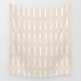 dash blush Wall Tapestry