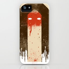 The Silence (Native Woman) iPhone Case