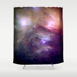 Galaxy : Pleiades Star Cluster NeBula Shower Curtain