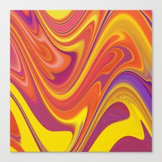 Tropical Candy Canvas Print