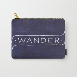 Not all those who wander are lost // #TravelSeries Carry-All Pouch