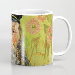 The Postman (Joseph Roulin) (1888) by Vincent Van Gogh. Coffee Mug