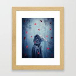 he wolf Framed Art Print
