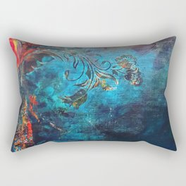 Flame of the Forest Rectangular Pillow