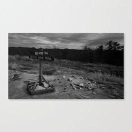 Trailhead Canvas Print
