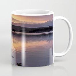 The Derwent Reservoir at sunset Coffee Mug