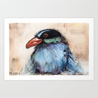 Renee Bird Art Print