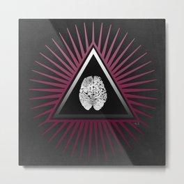 Mind Power 14 Metal Print