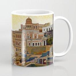 Vintage Italian travel Santa Cesarea Terme Lecce Coffee Mug