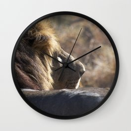 Sunkissed Wall Clock