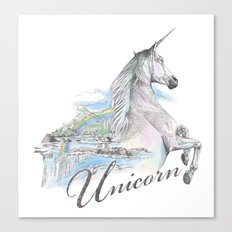 Unicorn classic Canvas Print