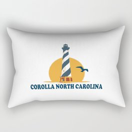 Corolla - North Carolina. Rectangular Pillow