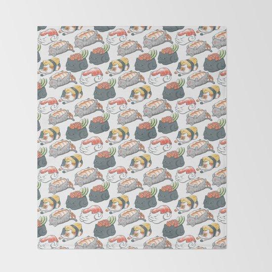 Sushi Cats by vernessahimmlerillustration