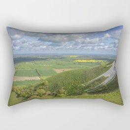 Farmlands. Rectangular Pillow