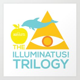 The Illuminatus! Trilogy Art Print