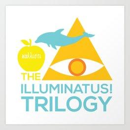 The Illuminatus! Trilogy Art Print