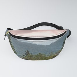 Great Smoky Mountain National Park Sunset Layers III - Nature Photography Fanny Pack