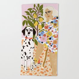 The Chaotic Life Beach Towel