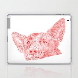 Mitzi takes it easy, red Laptop & iPad Skin